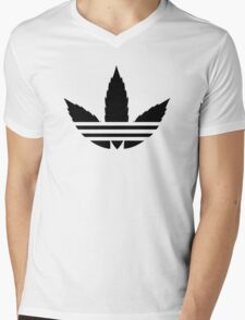 Addicted Mens V-Neck T-Shirt