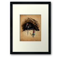 Consultation with the Spider Queen Framed Print