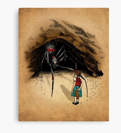 Consultation with the Spider Queen Canvas Print