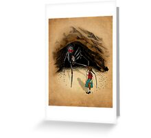 Consultation with the Spider Queen Greeting Card