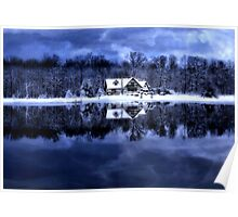 Home In Winter Poster