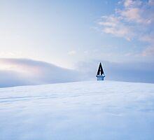 Winter sunset by Ian Middleton