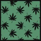 Green leafs background by KushDesigns