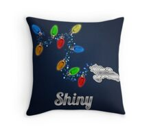 Tis the season to be Shiny Throw Pillow