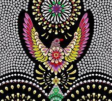 Treasure Flowerbird by Elmira Amirova