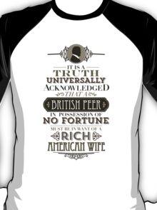 The Penniless Earl T-Shirt