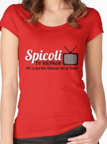 Spicoli TV Repair Women's Fitted Scoop T-Shirt