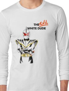 The EVIL White Dude (PRDT) Long Sleeve T-Shirt