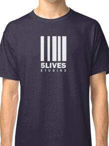 5 Lives Studios White Classic T-Shirt
