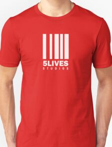 5 Lives Studios White Unisex T-Shirt