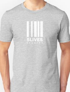 5 Lives Studios White T-Shirt