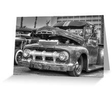 Classic Motor Greeting Card