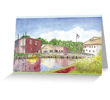 Plein Air Moleskine 2013 Milton Delaware Greeting Card