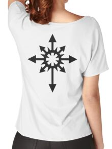 Warhammer 40k Chaos Black Legion Symbol Women's Relaxed Fit T-Shirt