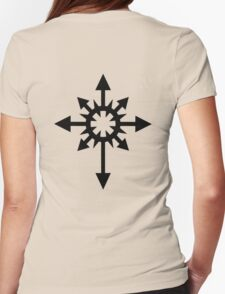 Warhammer 40k Chaos Black Legion Symbol Womens Fitted T-Shirt