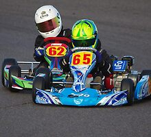 Competitive Kids at Lydd Kart Circuit - December 2013 by motapics