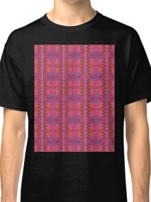 purple and blue square spirals Classic T-Shirt