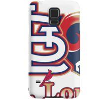 St. Louis Cardinals rams mash up  Samsung Galaxy Case/Skin