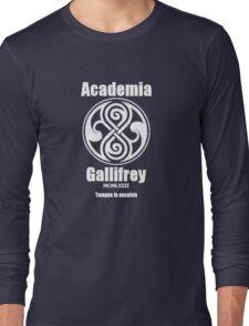 Academia Gallifrey Long Sleeve T-Shirt
