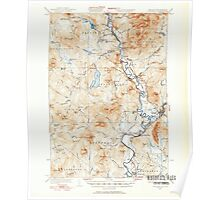 USGS Topo Map  Vermont VT Guildhall 337952 1933 62500 Poster