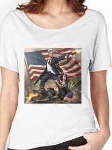 bill clinton Women's Relaxed Fit T-Shirt