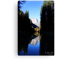 Yosemite Mirror Canvas Print