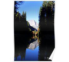 Yosemite Mirror Poster