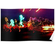 Dancing Light Poster