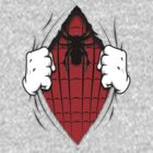 Spider on my Chest by viperbarratt