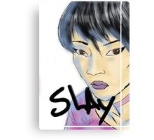 SLAY. Canvas Print