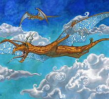 Air Dragon by ShaunyRedComet