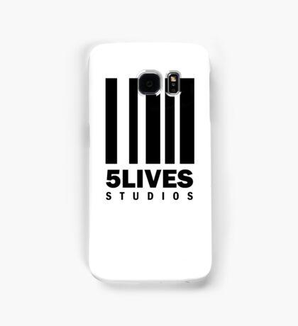 5 Lives Studios Black Samsung Galaxy Case/Skin