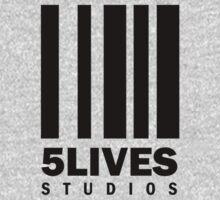 5 Lives Studios Black One Piece - Short Sleeve