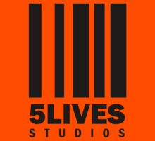 5 Lives Studios Black Kids Tee