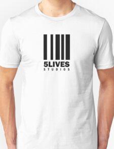 5 Lives Studios Black T-Shirt
