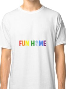 fun home-pride logo Classic T-Shirt
