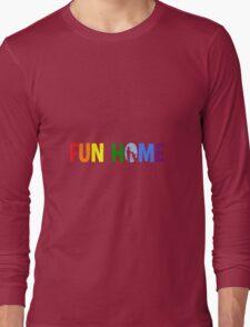 fun home-pride logo Long Sleeve T-Shirt