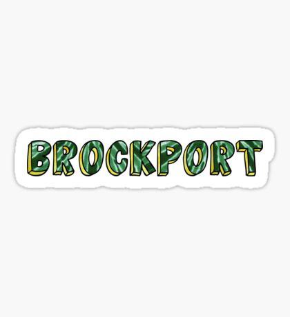 SUNY Brockport Sticker