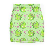 Green Queen Gummy Mini Skirt