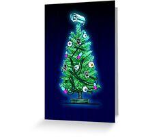 Surveillance Tree Greeting Card