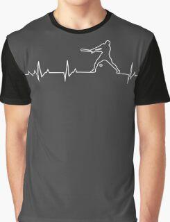 Baseball Heartbeat T-shirt & Hoodie Graphic T-Shirt