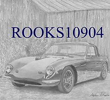 TVR Grantura SPORTS CAR ART PRINT by rooks10904