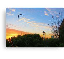 Sun Up San Francisco Canvas Print