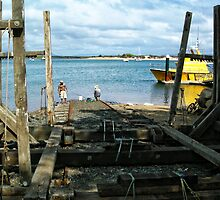 Coast Guard Slipway by V1mage