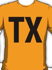 Texas TX Black Ink T-Shirt