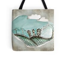 Wacky village Tote Bag