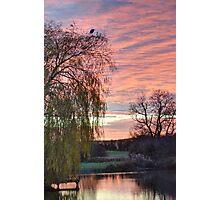 Shireoaks Sunset Photographic Print