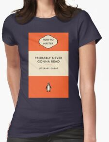 The Hipster Toolkit - The Literary Classic Womens Fitted T-Shirt