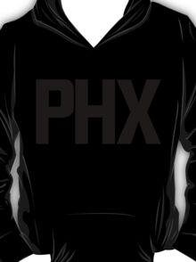 Phoenix Sky Harbor International Airport Black Ink T-Shirt