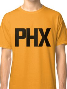 Phoenix Sky Harbor International Airport Black Ink Classic T-Shirt